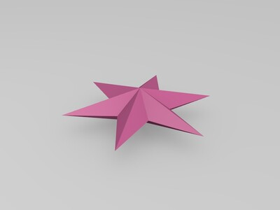 五角星-3d打印模型