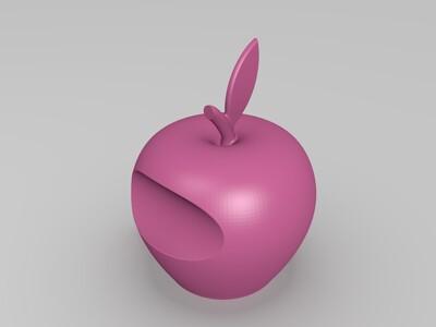苹果鱼屋-3d打印模型