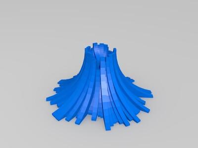 小火山-3d打印模型