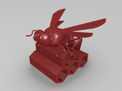 休息的飞蚁-3d打印模型
