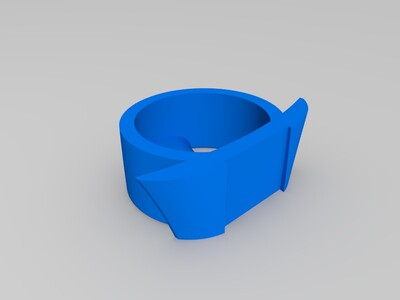 熊猫烟灰缸-3d打印模型