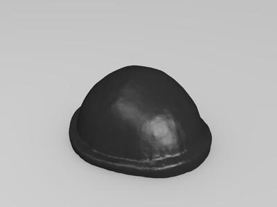 崎岖摇滚歌手-3d打印模型