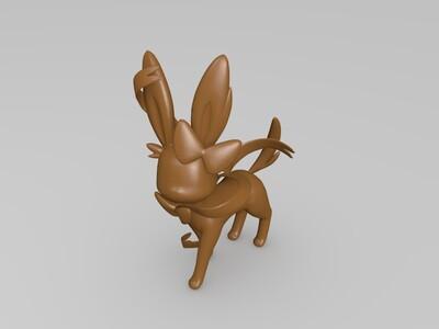 宝可梦--仙子伊布-3d打印模型