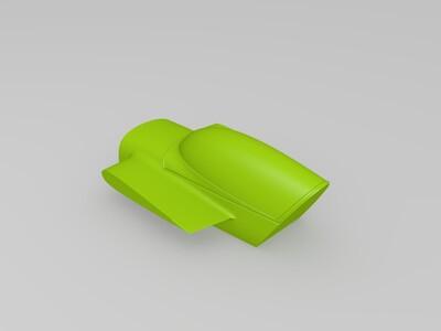 玩具仿真飞机分部件打印-3d打印模型
