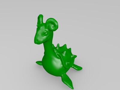 k-乘龙-3d打印模型