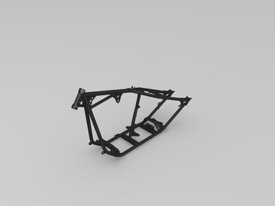 摩托车架-3d打印模型