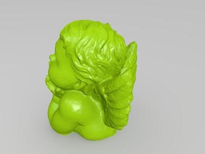 小天使摆件-3d打印模型