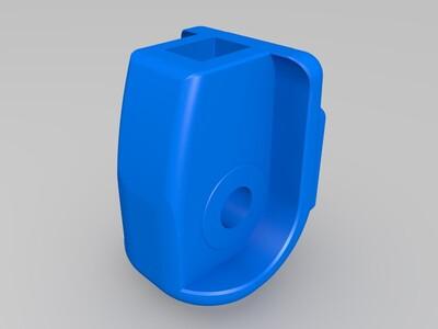 鲨鱼机器人(可动)-3d打印模型