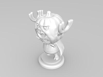 乔巴,海贼王,高精度手办-3d打印模型