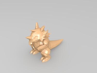 Pokemon #112_Rhydon-3d打印模型