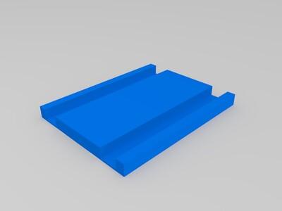 DVD PS 支架 插座-3d打印模型