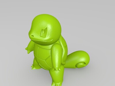 Pokemon #Squirtle-3d打印模型