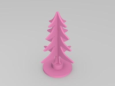 圣诞树-3d打印模型