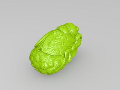 金蝉-3d打印模型