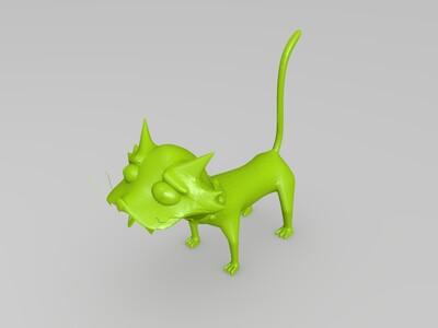 辛普森 雪球二世-3d打印模型
