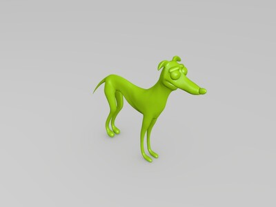 圣诞老人的小帮手-辛普森-3d打印模型