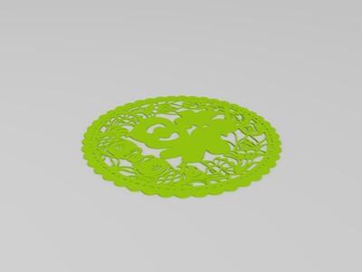 年画-3d打印模型