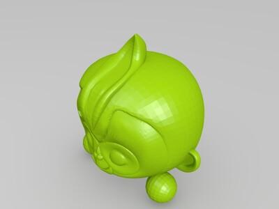 2016 猴年吉祥物 康康-3d打印模型