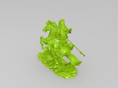 关二哥 关羽-3d打印模型