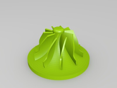 叶轮-3d打印模型