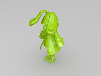 四糸乃 约会大作战 精灵版本-3d打印模型
