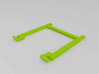 智能手机折叠支架-3d打印模型
