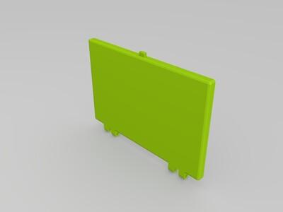 电路板支撑盒子-3d打印模型