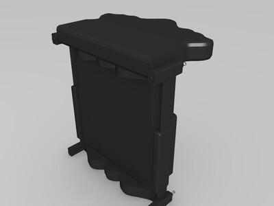 欧式床-3d打印模型