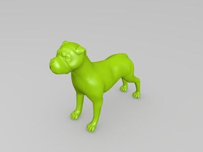 玩具狗-3d打印模型