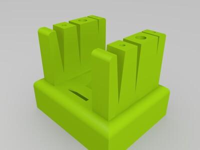 接丝 焊接底座(加强版)-3d打印模型