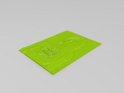 浮雕-3d打印模型