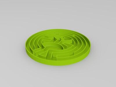 西部世界(精品细化版)迷宫 The maze of Westworld -3d打印模型