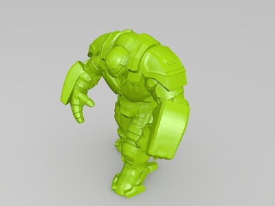 反浩克 装甲-3d打印模型