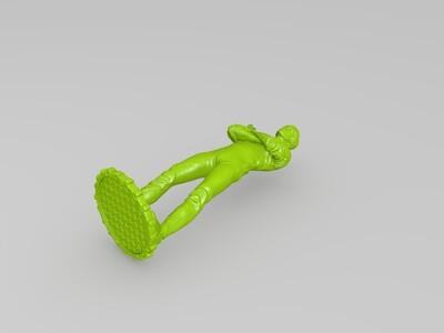李小龙模型-3d打印模型