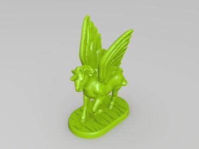 独角兽-3d打印模型