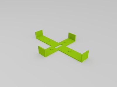 礼物盒子-3d打印模型