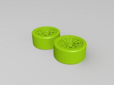 可以拼装的布加迪威龙-3d打印模型