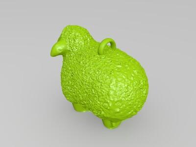 绵羊-3d打印模型
