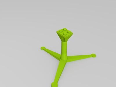 乐高云台-3d打印模型