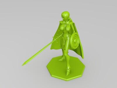 蕾贝卡-3d打印模型