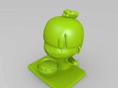 萌小Q-3d打印模型