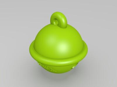 铃铛-3d打印模型