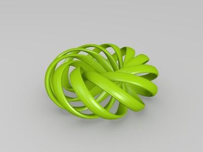 循环结-3d打印模型