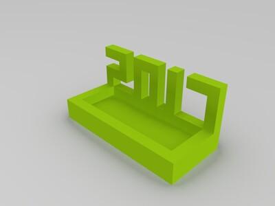 2017小盆-3d打印模型