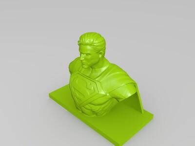 超人 像-3d打印模型