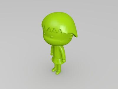 樱桃小丸子-3d打印模型