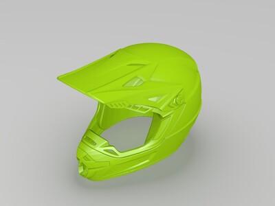 精品头盔-3d打印模型