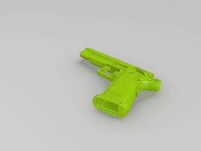 精品手枪-3d打印模型