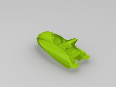 游艇-3d打印模型