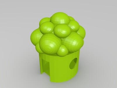 细胞-3d打印模型